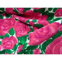 Rose Garden Bonded Georgette