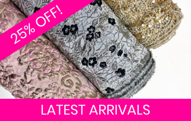 Latest Arrival Fabrics Online!