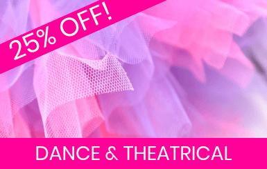 Dance, Sport, Costume & Theatrical Fabrics Online