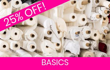 Basics, Linings, Interfacing Fabrics Online