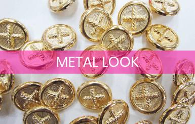 Metal Look Buttons