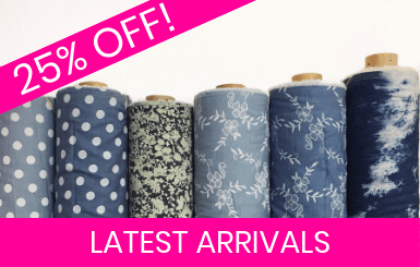 Latest Arrival Fabrics Online!