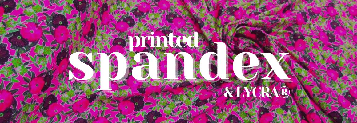 Printed LYCRA® & Spandex